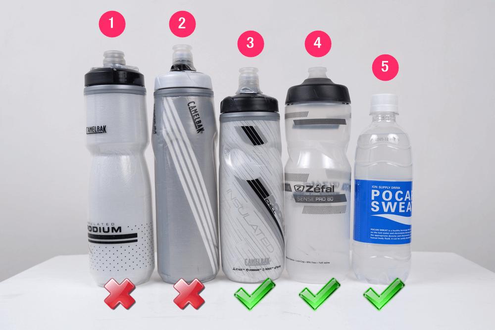 DAHON K3で使えるボトルサイズ