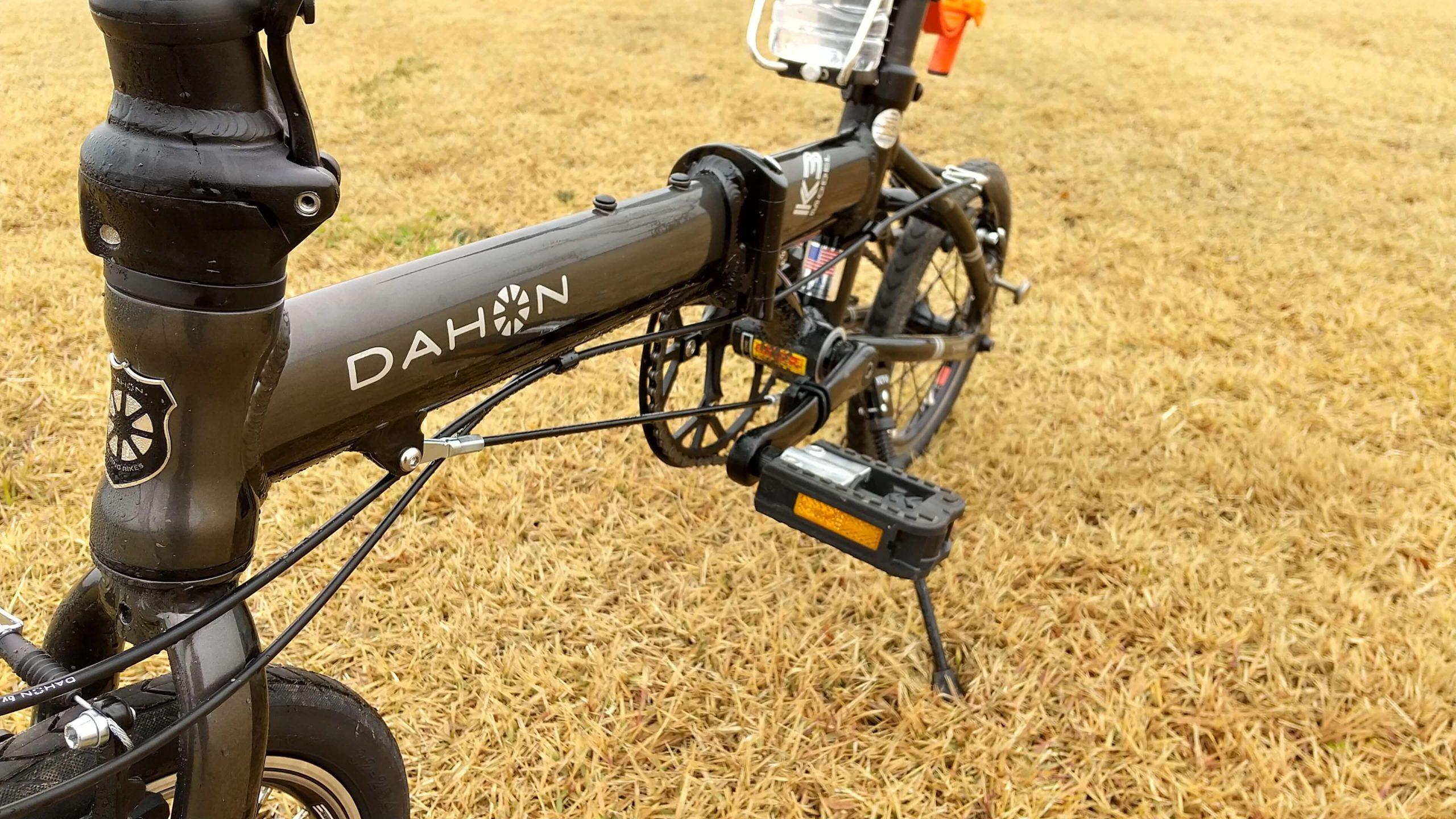 dahon k3を広角カメラで撮影