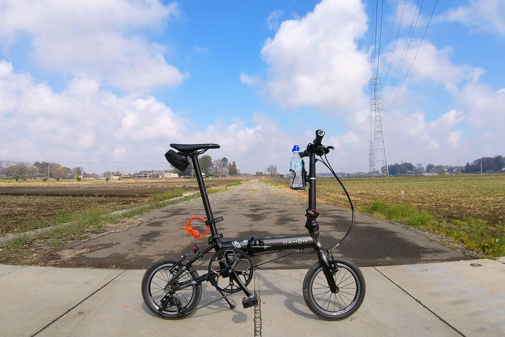 DAHON K3 ガンメタルでサイクリング