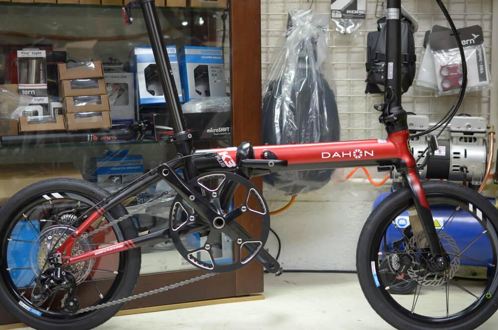 DAHON K3 PULS レッド×ブラック