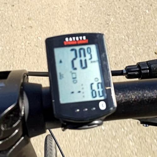 DAHON K3で時速20kmを出す