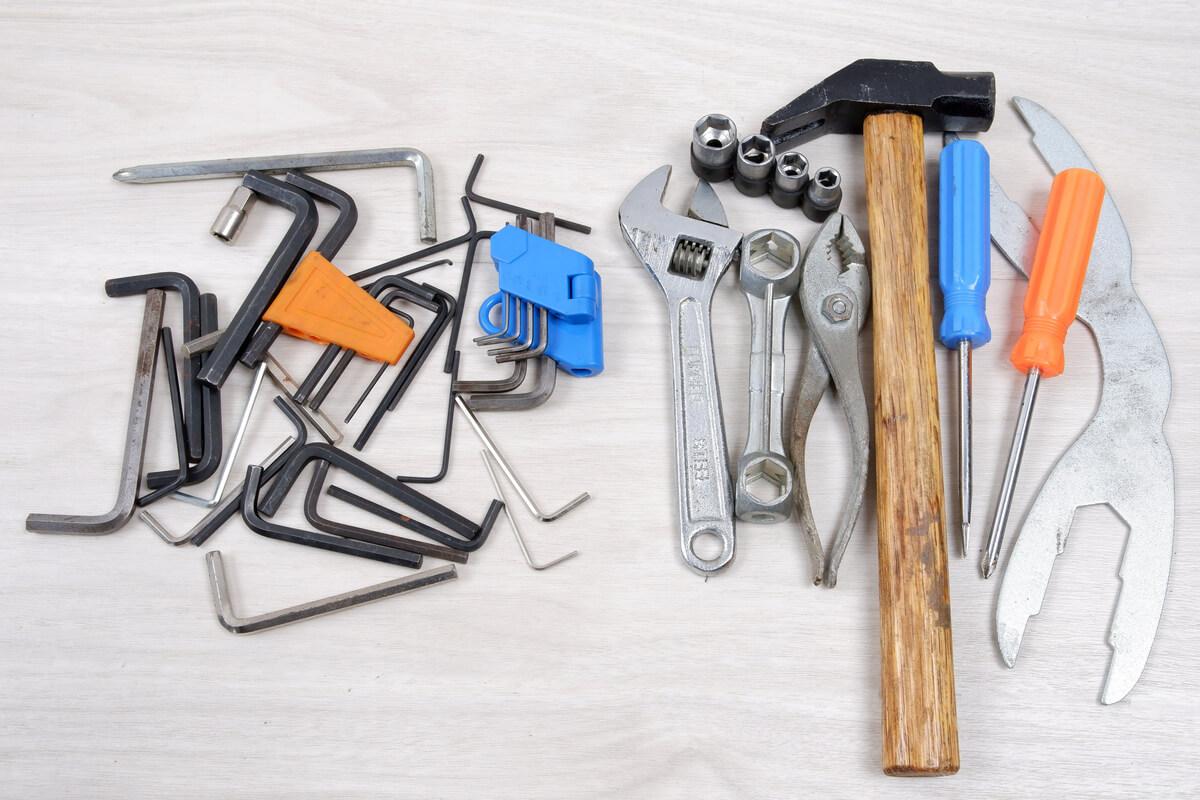 100均工具とアーレンキー