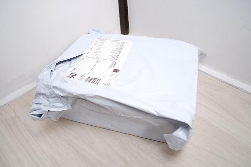 Wiggleで注文した荷物