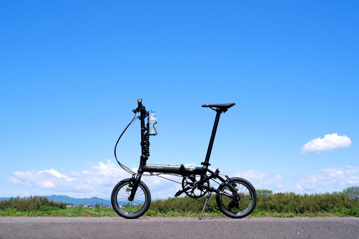 TANGE LN-7922を取り付けたDAHON K3でサイクリング