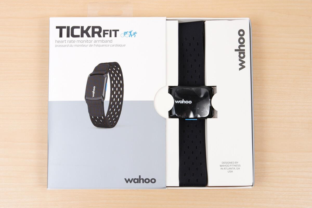 wahoo TICKR FITのパッケージ