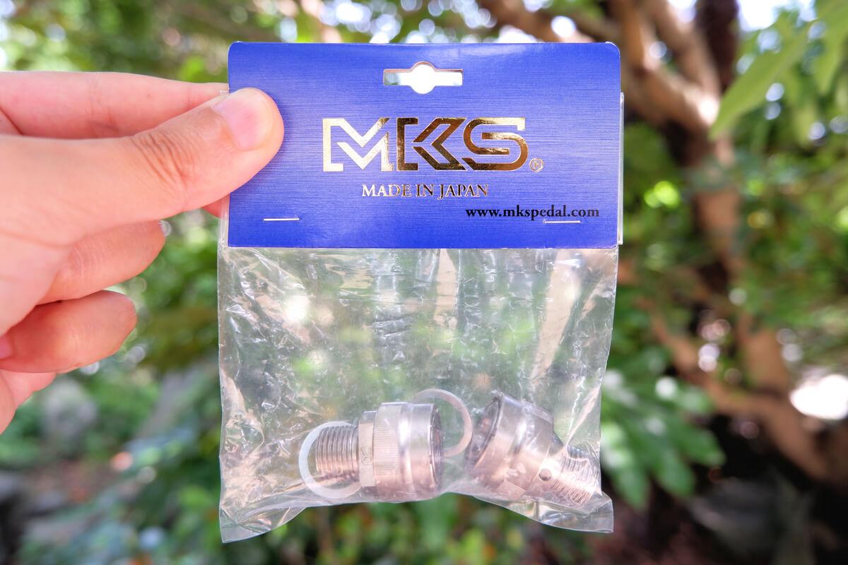 MKS イージースーペリア用アダプターのパッケージ