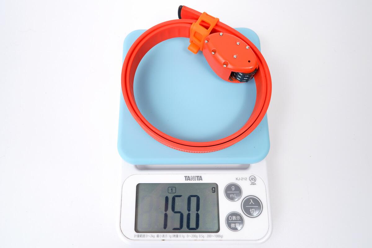 OTTOLOCKの実測重量