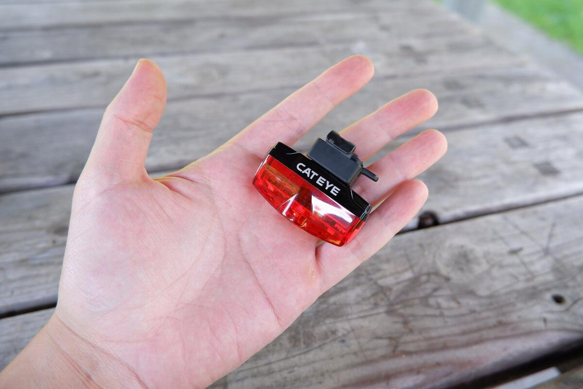 キャットアイ RAPID miniの大きさ