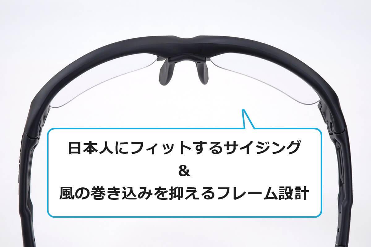 スワンズ スプリングボックのフレーム形状