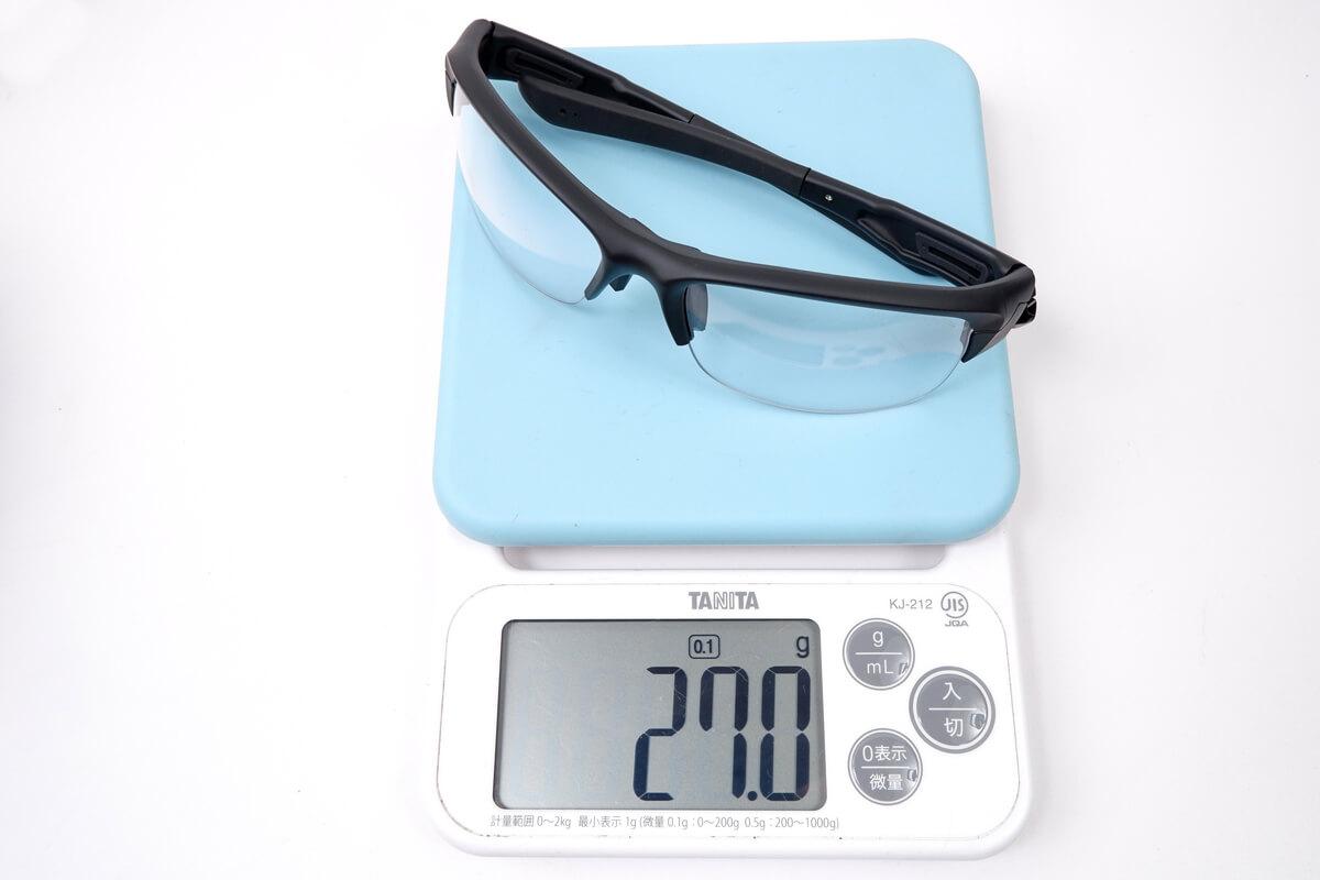 スワンズ スプリングボックの実測重量