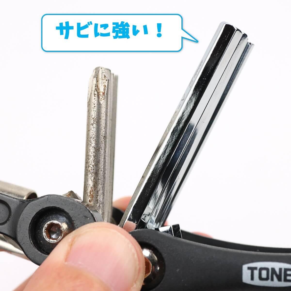 TONE マルチツール CMT8はサビに強い