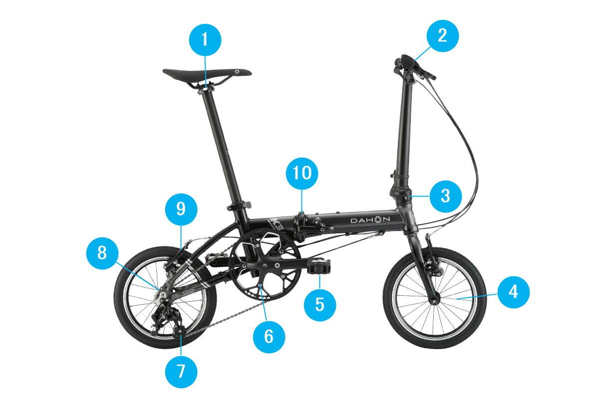 自転車の緩みチェック