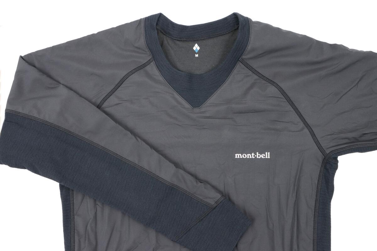 モンベル ウインドテクトサイクルアンダーシャツ、オモテ