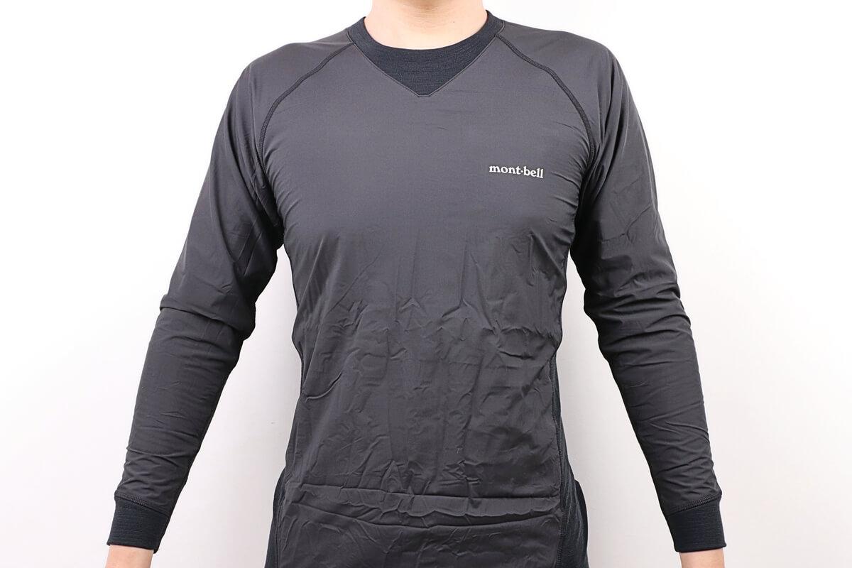 モンベル ウインドテクトサイクルアンダーシャツ