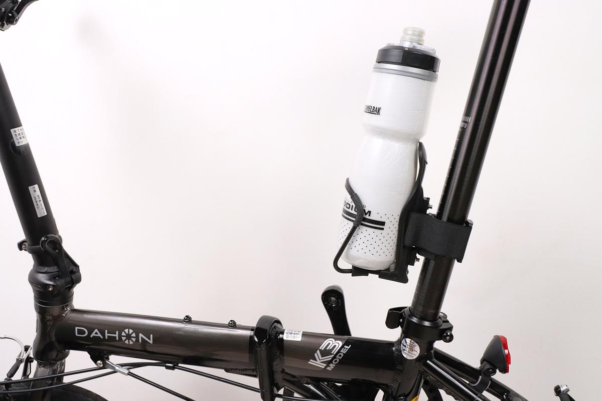 バイクガイ どこでもケージホルダーをシートポストに設置