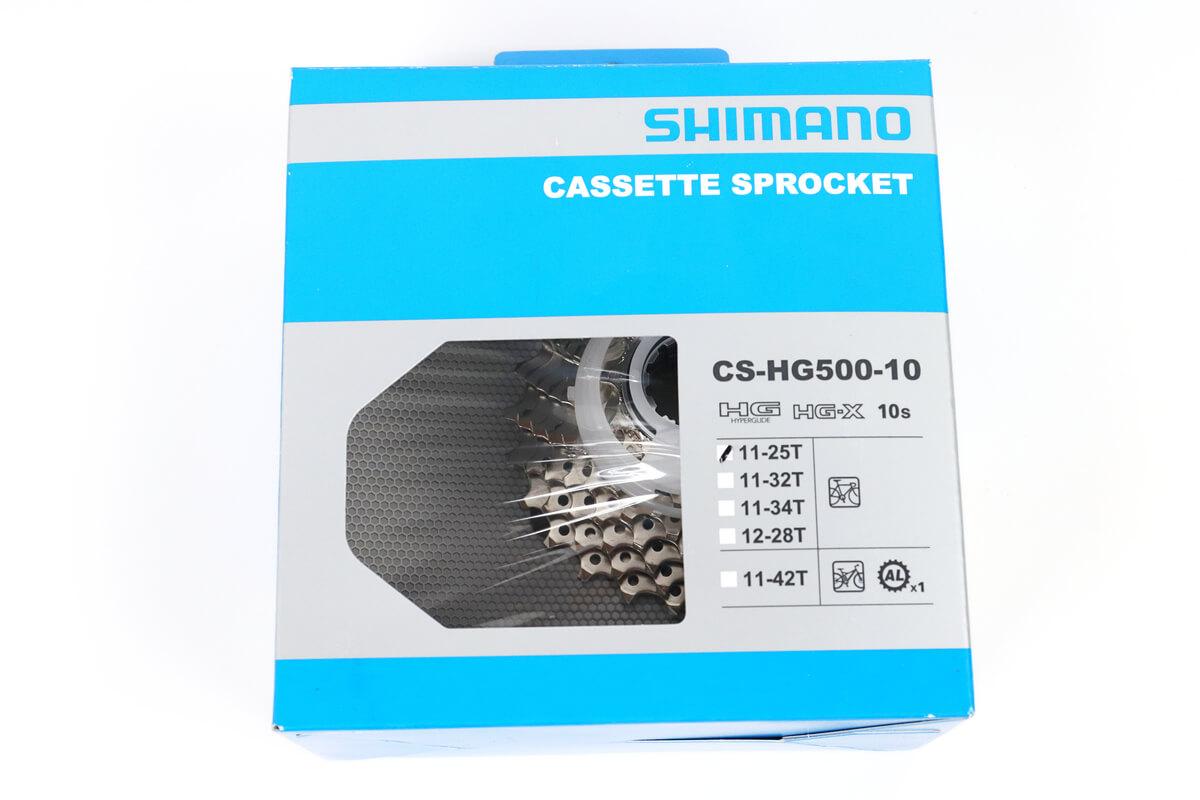スプロケット CS-GH-500-10、11-25T