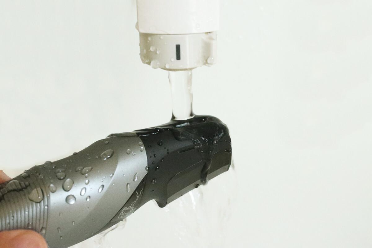 Panasonicのボディトリマー ER-GK81を水洗いする