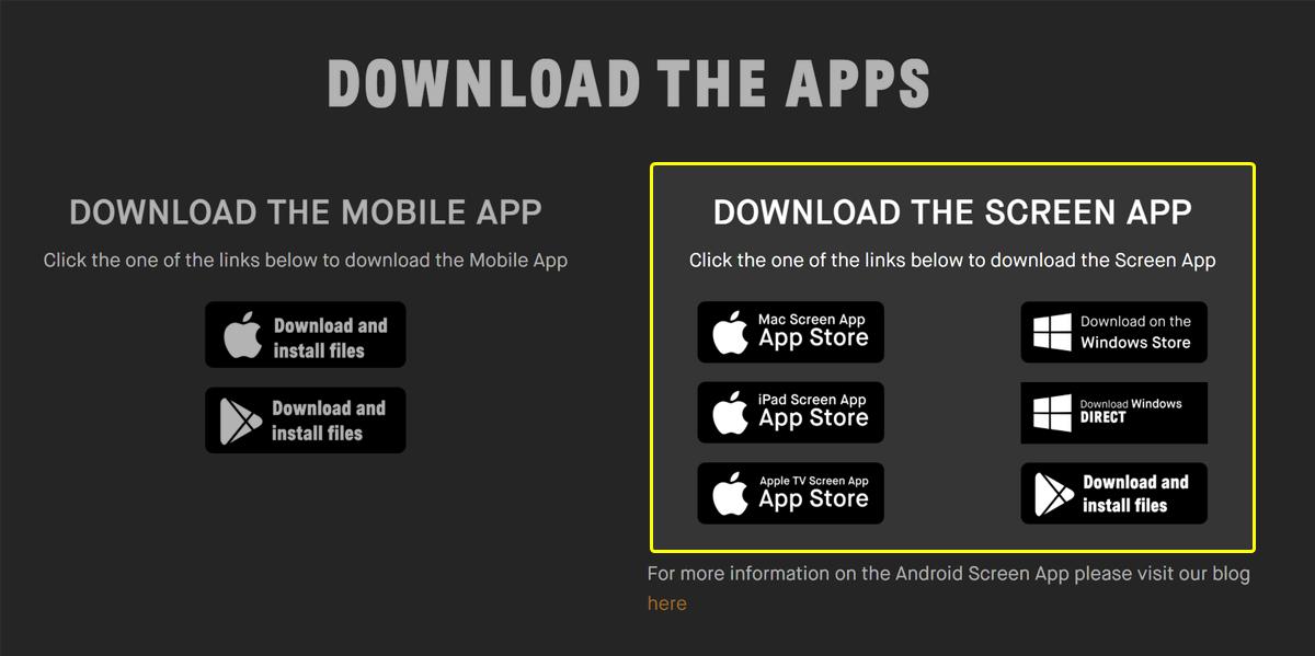 RGT Cyclingのスクリーンアプリをダウンロードする