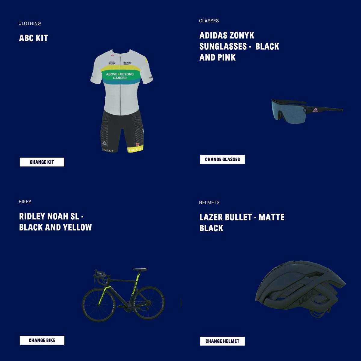 RGT Cyclingのアバターアクセサリー