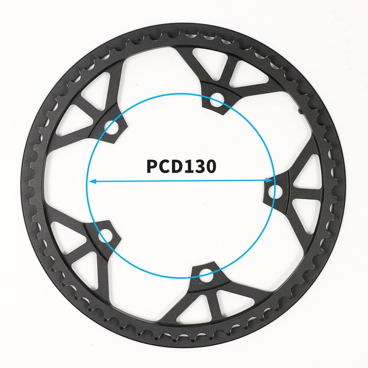 DAHON K3のチェーンリングはPCD130を選ぶ
