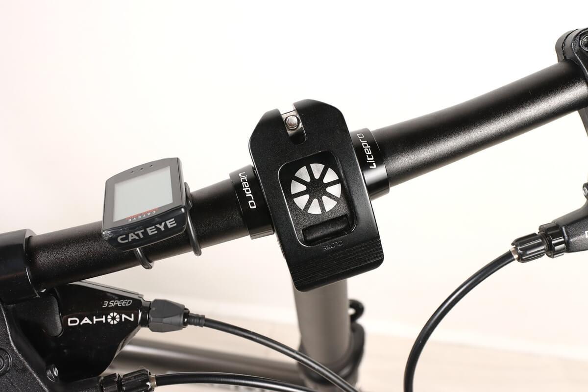 LiteProのハンドルストッパーを装着