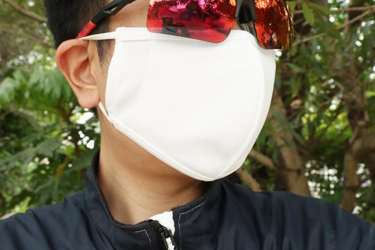 パールイズミ MSK-01 サイクルジャージ素材のマスク