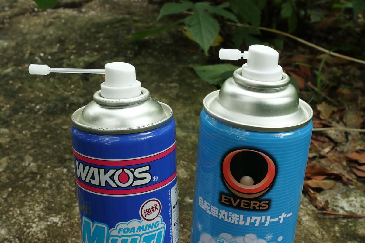 WAKO'SとEVERSマルチクリーナーノズルを比較