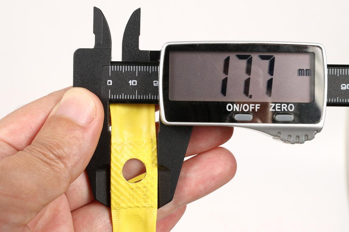 DAHON K3 リムテープの幅