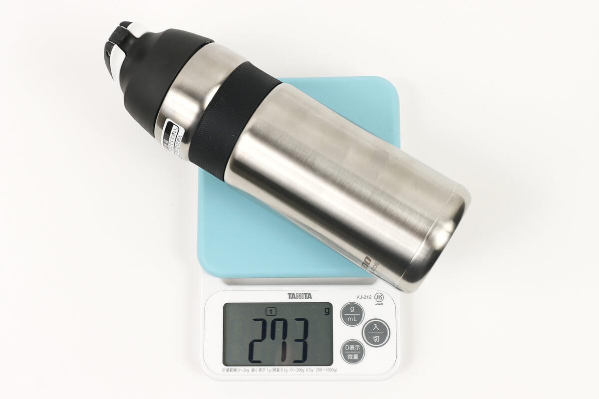 サーモス FFQ-600の実測重量