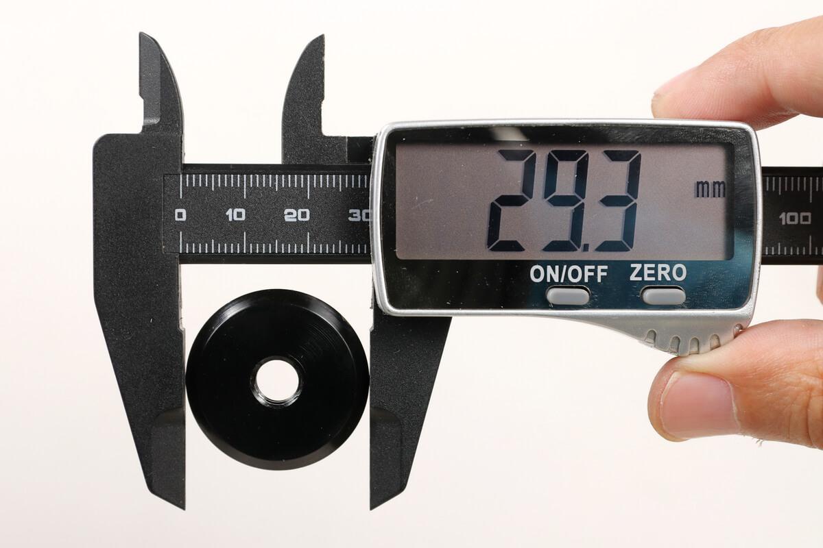 Litepro プッシュホイールの装着可能サイズ